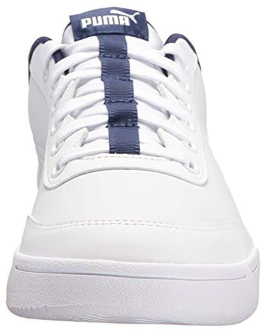 Lyst - PUMA Court Breaker L Sneaker in White for Men - Save 14.0625% ffdb93615