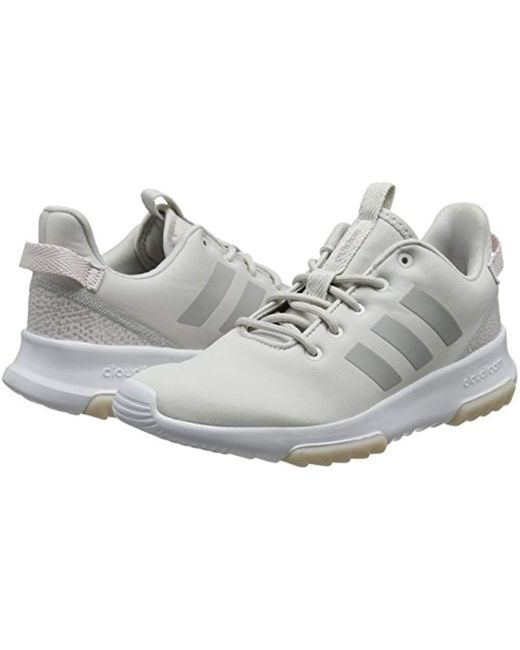 best online large discount online retailer adidas Cloudfoam Racer Tr Competition Running Shoes in Gray ...