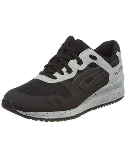 35c8da98625d Asics - Black Unisex Adults Gel-lyte Iii H7x4n-9090 Trainers for Men ...