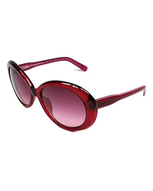 Benetton - Benetton 's Be906s02 Sunglasses Red 55 - Lyst