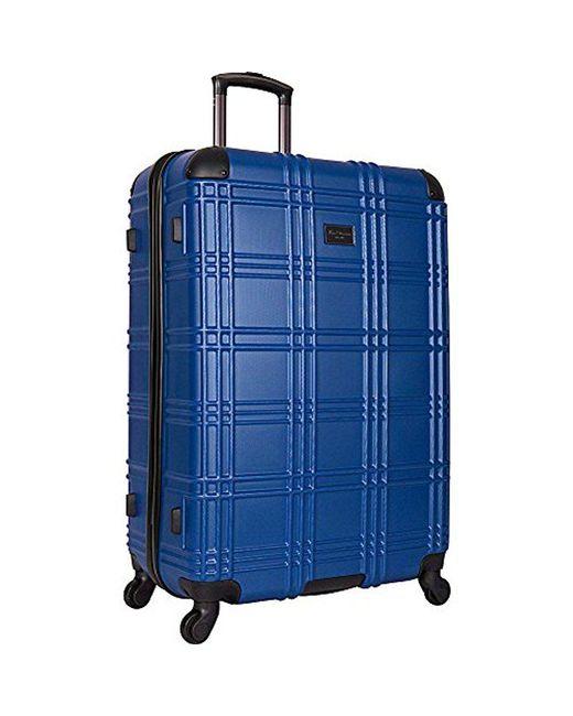 "Ben Sherman - Blue Nottingham 28"" Lightweight Embossed Pap 4-wheel Upright Luggage for Men - Lyst"