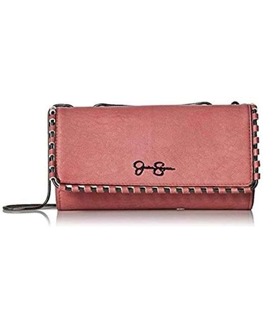 Jessica Simpson - Multicolor Selena Wallet On A Chain - Lyst