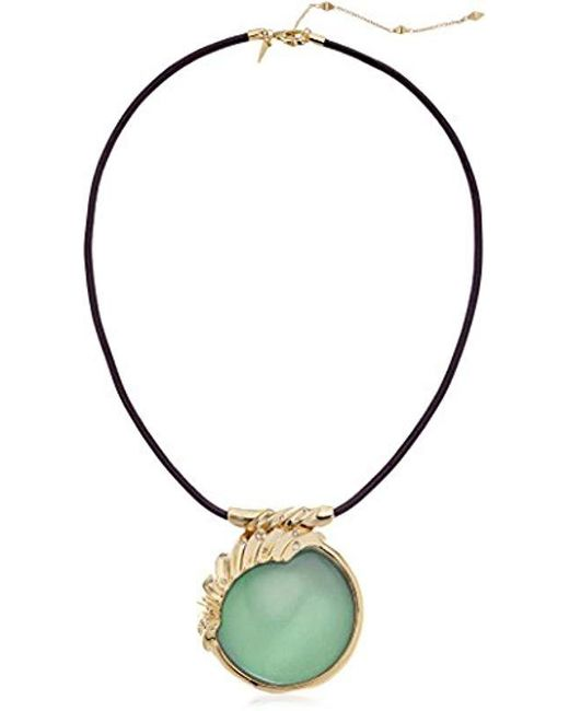 Alexis Bittar - Multicolor Crystal Studded Sculptural Sphere Pendant Necklace - Lyst