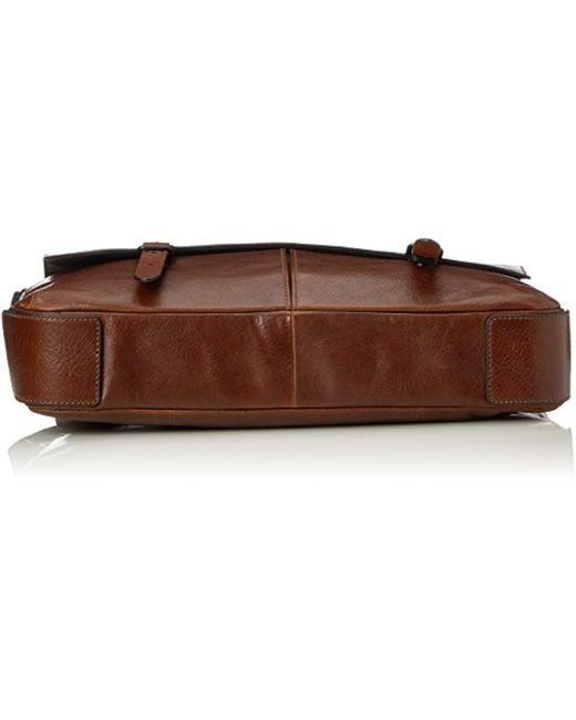 bc4af170ce ... Fossil - Herrentasche ? Defender Messenger, 's Bag, Brown (cognac), ...
