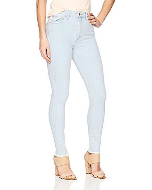 Joe's Jeans - Blue Flawless Charlie High Rise Skinny Jean - Lyst