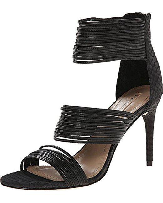 43e56dd03db BCBGMAXAZRIA - Black Pex Dress Pump - Lyst ...