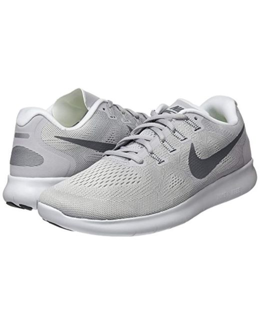 09c804ac37b5 Nike Free Rn 2017 Running Shoes in Gray for Men - Save 20% - Lyst