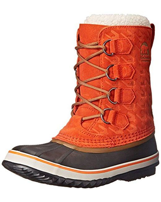 Sorel - Orange 1964 Pac Graphic 15 Cold Weather Boot - Lyst
