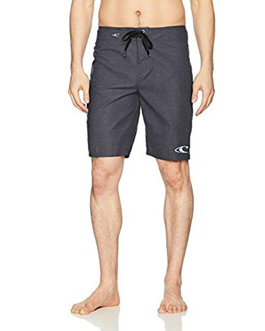 O'neill Sportswear - Black Santa Cruz Solid Boardshort for Men - Lyst
