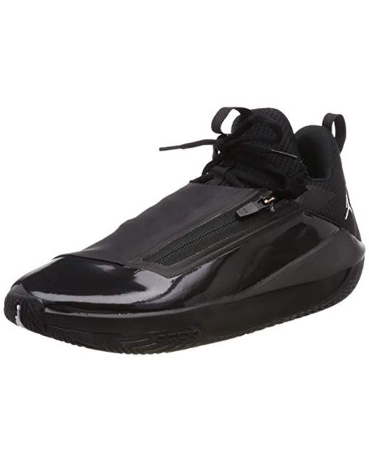 designer fashion 896d9 22dc9 Nike - Black Jordan Jumpman Hustle Basketball Shoes for Men - Lyst ...