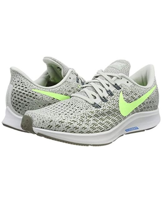 e56a5f4c4861 ... Nike - Gray Air Zoom Pegasus 35 Competition Running Shoes for Men - Lyst  ...