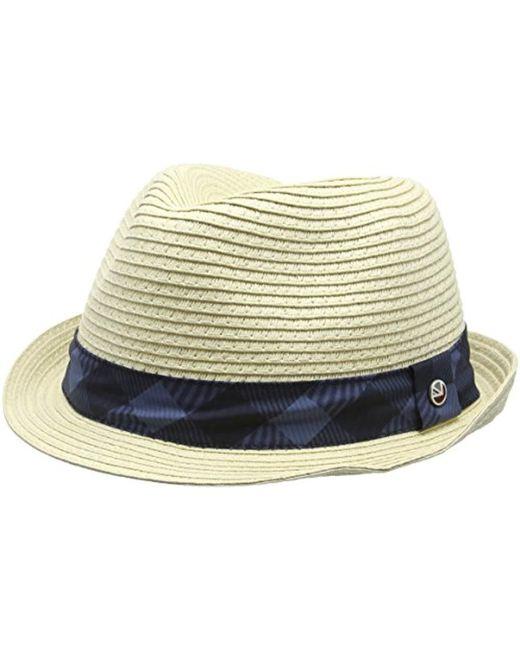 Ben Sherman - Blue Cole Trilby Hat for Men - Lyst