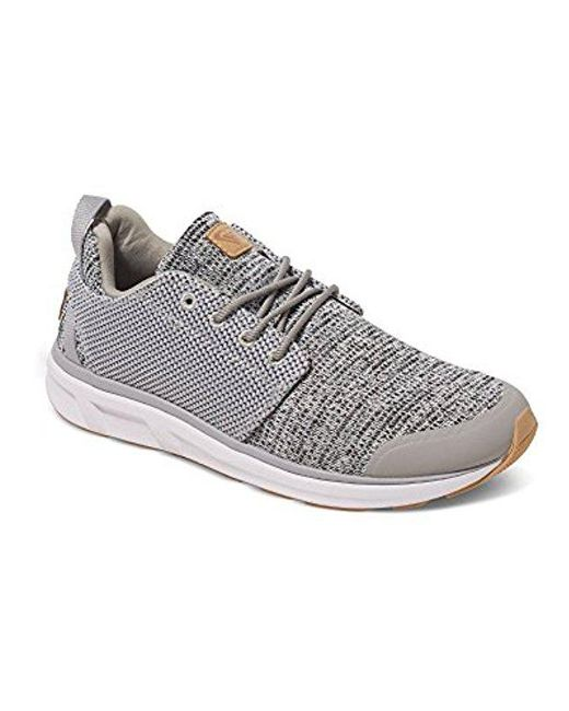 Roxy - Gray Set Session Athletic Walking Shoe - Lyst