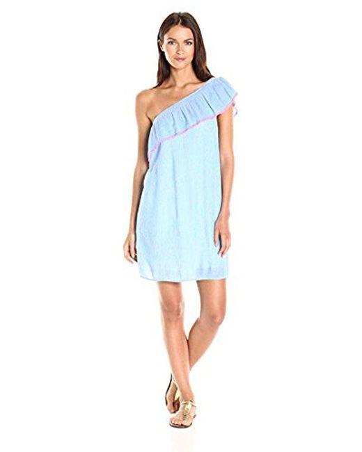 75c6657ce9d044 Lilly Pulitzer - Blue Emmeline Dress - Lyst ...