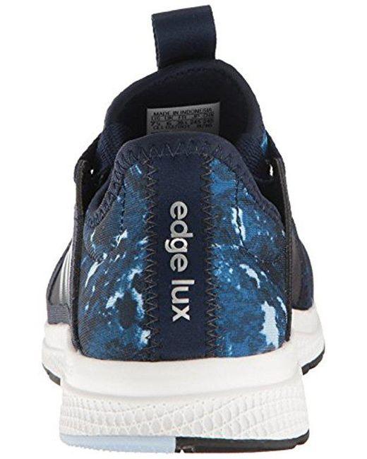 uk availability 1ee8e ebbe7 ... Adidas - Blue Edge Lux W Running Shoe, Bold Pinkhaze Coralblack ...