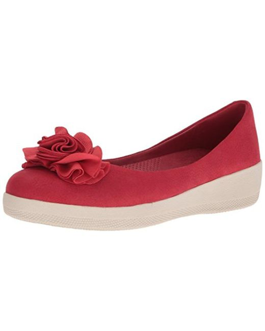 Fitflop - Red Florrie Superballerina Ballet Flat - Lyst