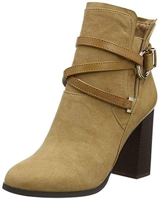 Miss Selfridge - Brown Wrap Chelsea Boots - Lyst