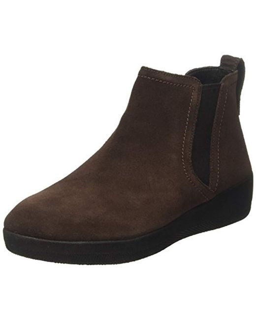 Fitflop - Womens Chocolate Brown Superchelsea Boots - Lyst