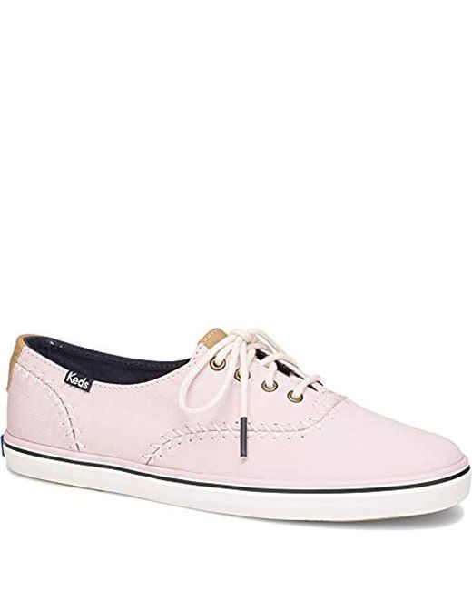 a05412facc4d9 Keds Champion Pennant Baseball Fashion Sneaker in Pink - Lyst