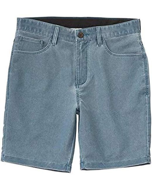 Billabong - Blue Outsider X Surf Cord Stretch Submersible Short for Men - Lyst