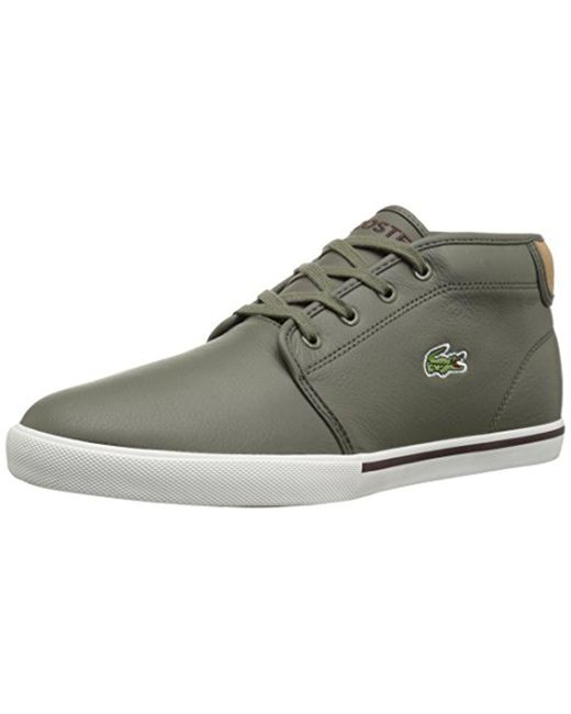 Lacoste - Green 's Ampthill Chukka Sneakers for Men - Lyst
