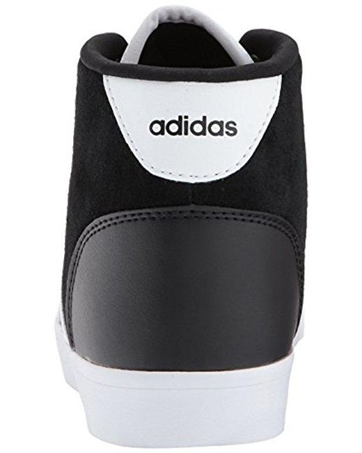 low priced 7100d 66c9d ... Adidas - Cf Daily Qt Mid W Sneaker, Blackwhitesuper Pink, ...
