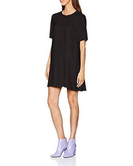 Great Plains - Black Elegant Peplum Dress - Lyst
