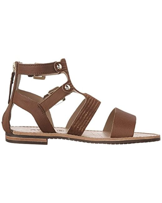 8ff0d13e0344 Geox  s D Sozy G Gladiator Sandals Black in Brown - Lyst