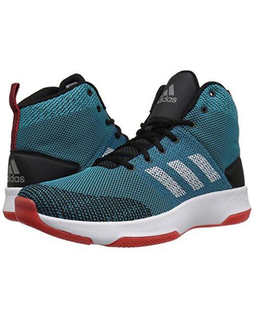 Lyst Adidas CF encendido mediados de zapatilla de baloncesto para los hombres