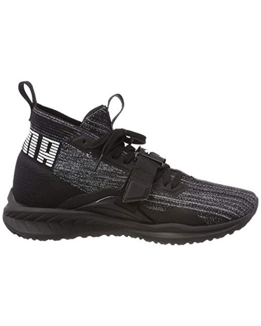 18fa4c071f2a18 PUMA Ignite Evoknit 2 Cross Trainers in Black for Men - Save 18% - Lyst