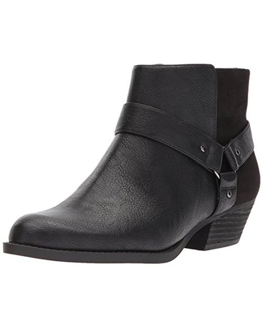 Nine West - Black Kinda Synthetic Ankle Boot - Lyst