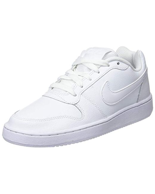 9e304c32033 Nike Ebernon Low Sneaker in White - Save 15% - Lyst