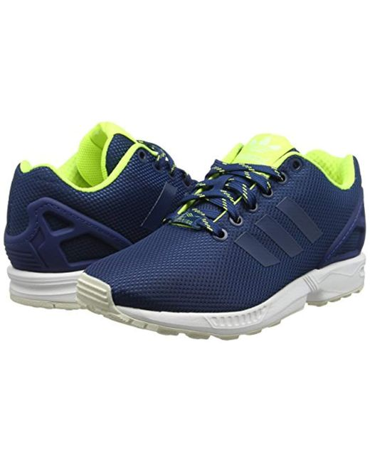 2aa3be39c ... Adidas - Blue Zx Flux Training Running Shoes for Men - Lyst ...