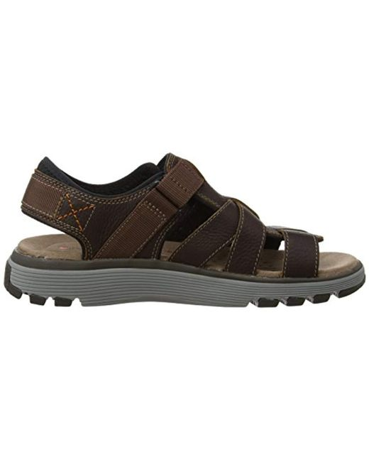 f20541b508a9 Clarks Un Trek Cove Sling Back Sandals in Brown for Men - Save 14 ...