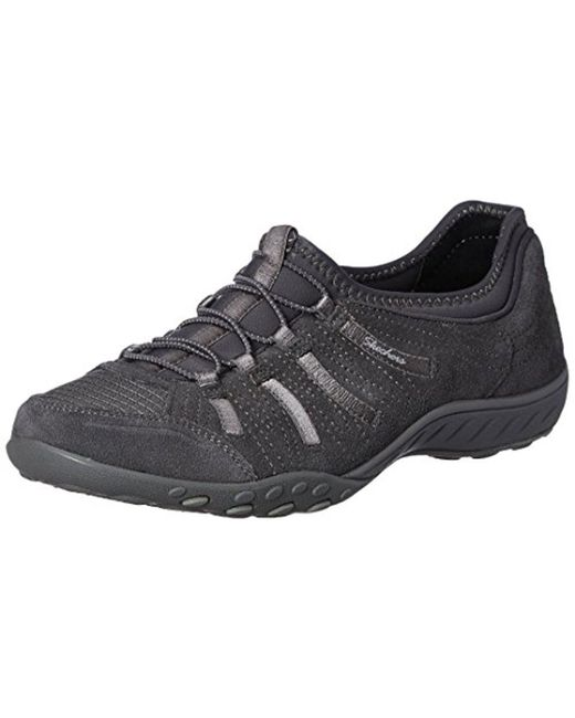 Skechers - Gray Breathe Easy Big Bucks Fashion Sneaker - Lyst