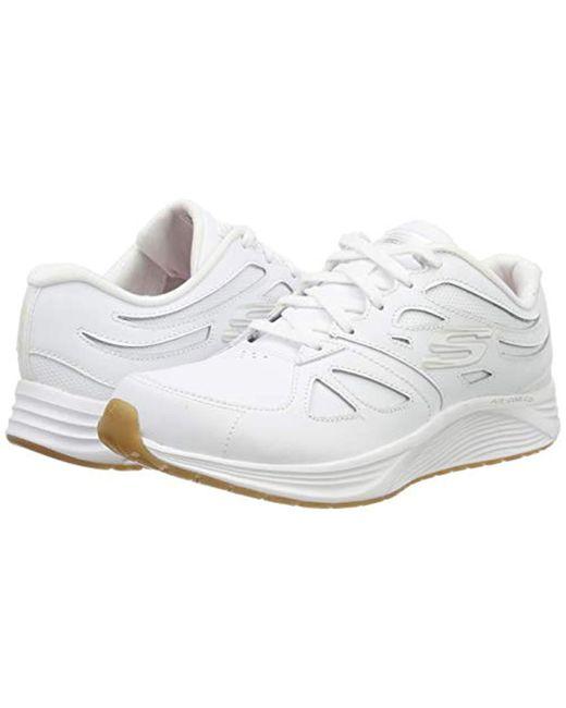 skechers white trainers