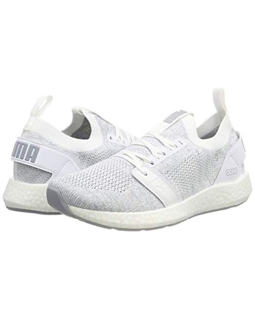 401725fbfb5fa8 ... PUMA - White Nrgy Neko Engineer Knit Wns Competition Running Shoes -  Lyst ...