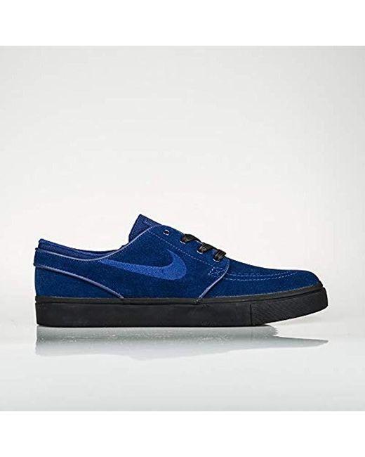 d8e2cb84e6a Nike - Blue Zoom Stefan Janoski Low-top Sneakers for Men - Lyst ...