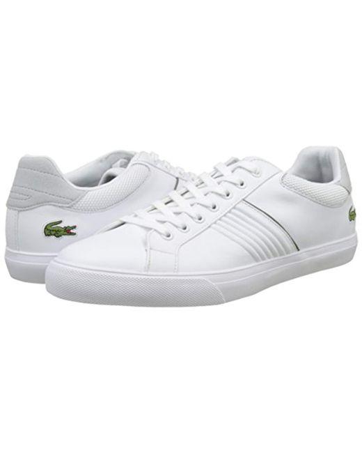 fcd0567952068a ... Lacoste - White Fairlead 117 1 Casual Shoe Fashion Sneaker for Men -  Lyst ...