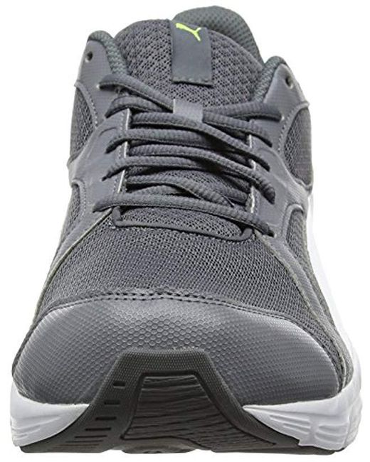 PUMA Unisex Adults' Axis V4 Grid Low top Sneakers in Gray