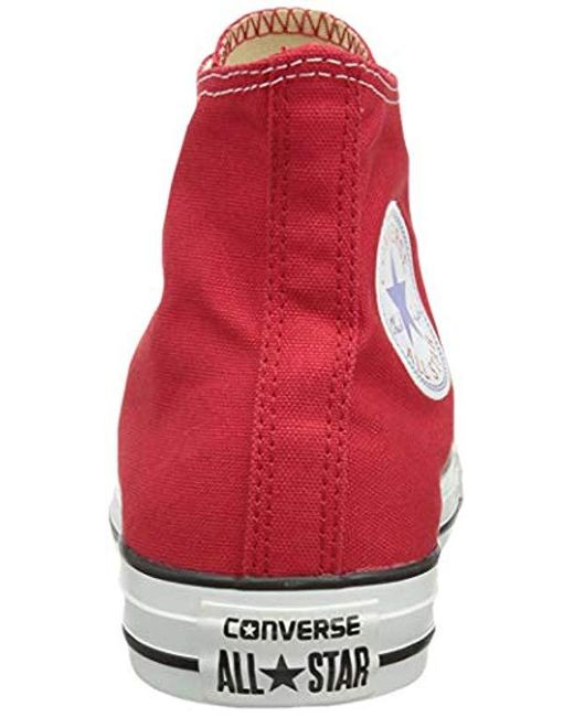 136362ab4be6 ... Converse - Canvas Shoes High Men s Shoes (high-top Trainers) In Red for  ...
