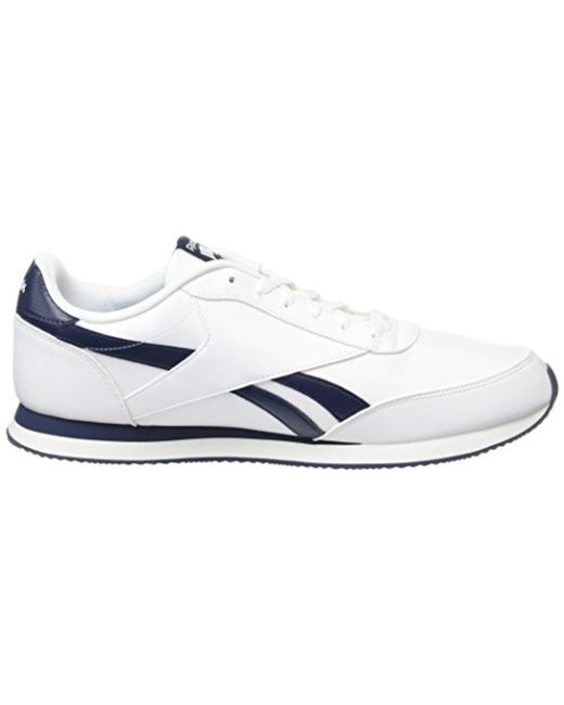d4ad1c8ea1f16 Reebok Royal Cl Jog 2l Gymnastics Shoes in White for Men - Save 32 ...