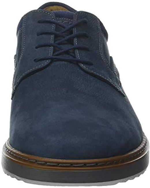 51b540f68bb ... Clarks - Blue Un Geo Lace, Zapatos de Cordones Derby para Hombre for  Men ...
