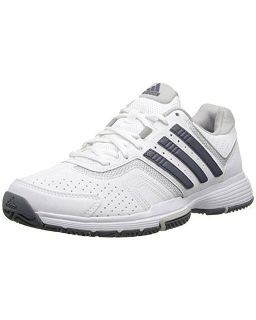 Lyst Adidas Performance Barricade Court W zapato tenis en gris