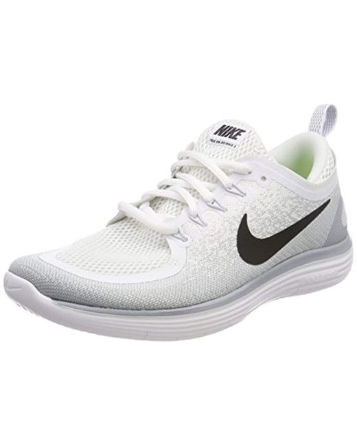 53732ef82ce7 Nike Free Rn Distance 2 Running Shoes in Gray for Men - Save 3% - Lyst