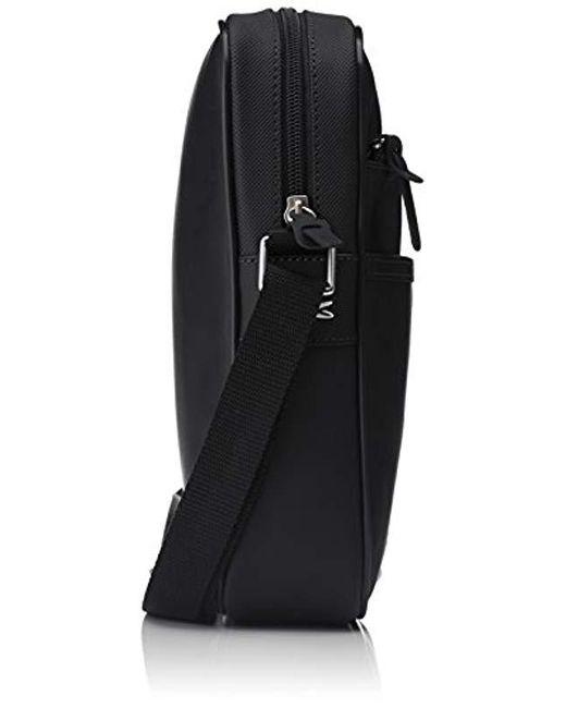 3311fac93c ... Lacoste - Sac Homme Access Basic Shoulder Bag Black Black (black) One  Size for ...
