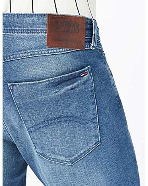 2fd70044 ... Tommy Hilfiger - Blue Tapered Steve Slim Jeans for Men - Lyst ...