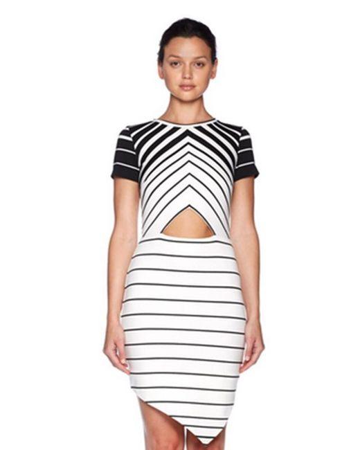 Bec & Bridge   White Zodiac Tee Dress   Lyst