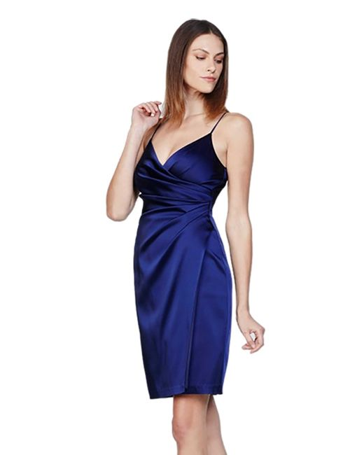 bailey 44 ludimar dress in indigo blue in blue lyst