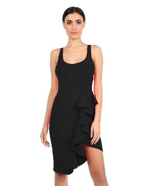 Jay Godfrey | Mannix Racerback Dress In Black | Lyst